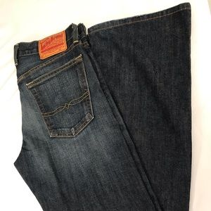 LUCKY BRAND Relaxed Bootleg High Rise Jeans 28